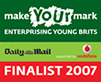 Make Your Mark Awards - Top 5 UK Young Business Entrepreneur