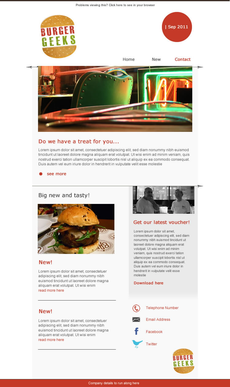 Burger Geeks template