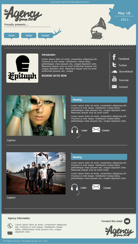 agency group template