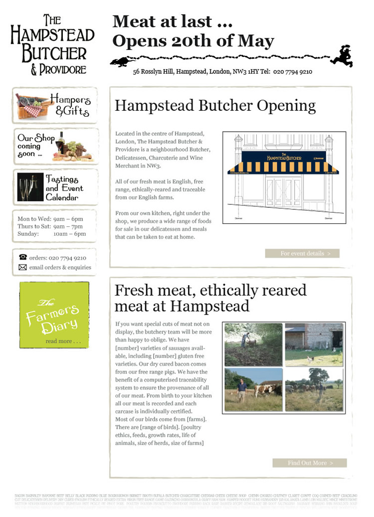 Hampstead Butcher template